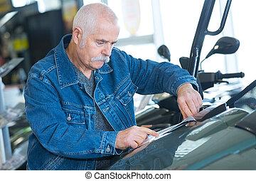 변화, 기름, 기계공, 엔진