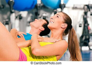 복근 운동, 체조, 적당