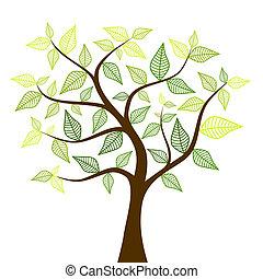 봄, 나무