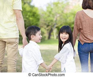부모, 은 붙들n다, 그만큼, 손, 의, 아이들