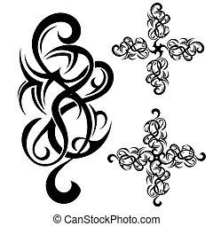 부족의 예술, 문신