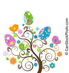 부활절, 나무