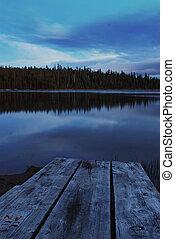 북쪽, 쌍둥이, 호수