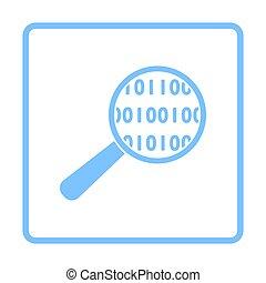 분석하는 것, 자료, 아이콘