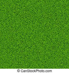 분야 잔디, 녹색