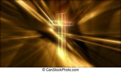 빛나는, 십자가