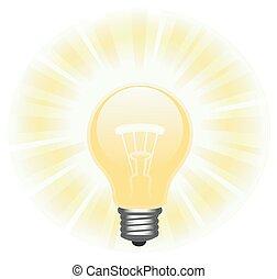 빛을내는 전구, 2