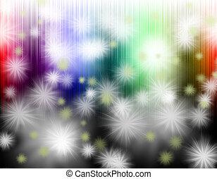 빛, 떼어내다, 다채로운, 배경