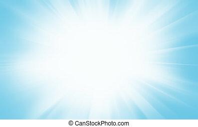 빛, 떼어내다, 밝은, 배경