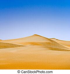 빛, 모래, 부드러운 물건, 모래 언덕