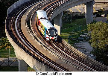 빛 선로, train2