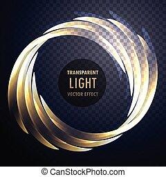빛 효과, 벡터, 배경, 소용돌이, 빛나는, 투명한