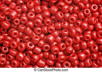 빨강, 구슬