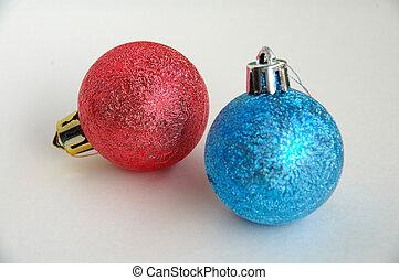 빨강, 그리고 푸른색, christm