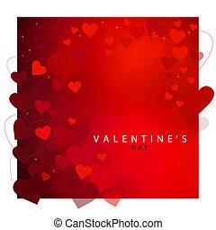 빨강 심혼, 배경, 치고는, 발렌타인 데이