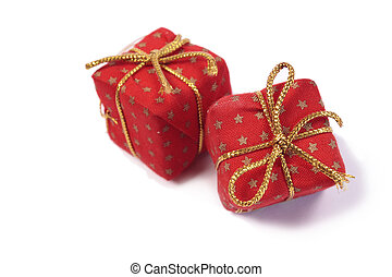 빨강, 크리스마스 프레즌트