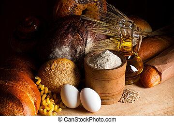 빵 굽기, bread