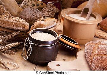 빵 굽기, loafs, bread
