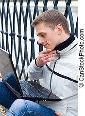 사람, 와, 휴대용 퍼스널 컴퓨터