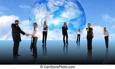사람, 일, 에서, 사업
