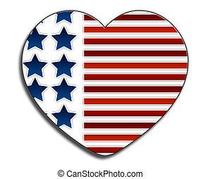 사랑, 미국
