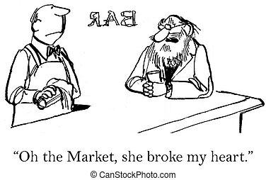 사랑, 시험해 보게 된다, 그러나, scorned, 은 이었다, 시장