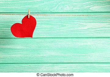 사랑 심혼, 망설이는 것, 로프, 통하고 있는, a, 박하, 멍청한, 배경