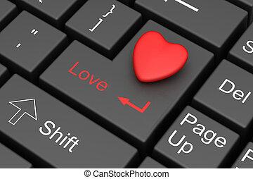 사랑, 인터넷