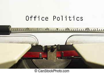 사무실 정치