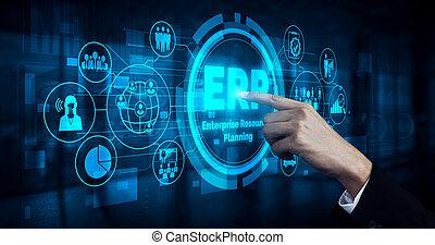 사업, 기업, 계획, 관리, 소프트웨어, 자원, 체계, 자원, erp