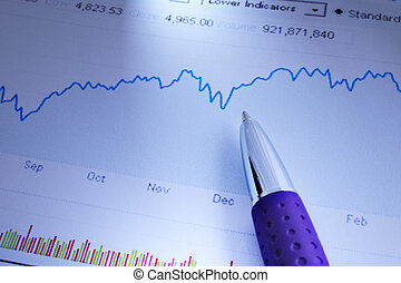 사업, 도표, 분석