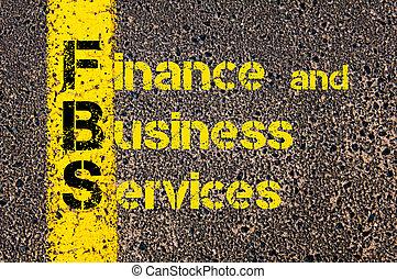 사업, 두문자어, fbs, 가령...와 같은, 재정, 와..., 사업, 서비스