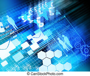 사업, 미래, 네트워크, 배경