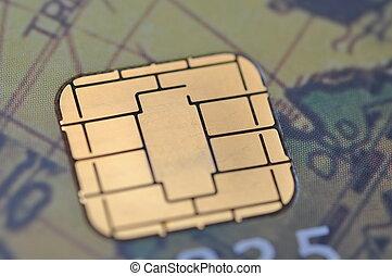사업, 상세한 묘사, 칩, 카드