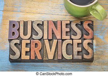 사업, 서비스, 에서, 나무, 유형