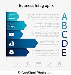 사업, 종이, 그래프