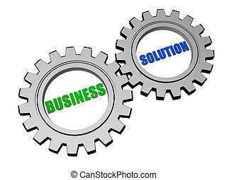 사업, 해결, 에서, 은, 회색, 은 설치한다