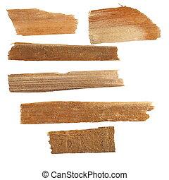 산산조각, 의, 지리멸렬의, 두꺼운 널판지, 의, 너도밤나무