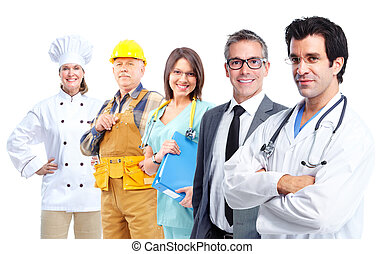 산업의, workers.