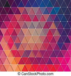 삼각형, 패턴