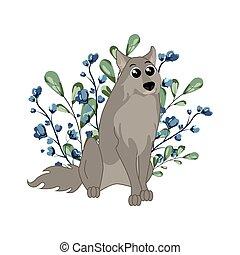 삼림지, 동물