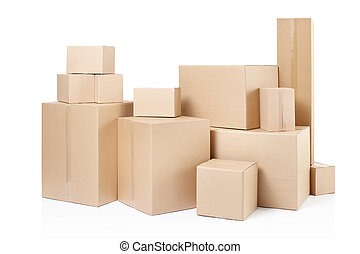 상자, 판지