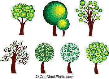 상징, 나무