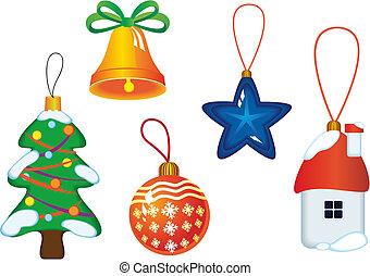 상징, 크리스마스, 아이콘