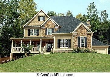 새로운 가정, 건물