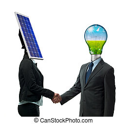 새로운, 에너지, 동의, 협정, 계약