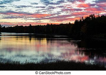 새벽, 평화로운
