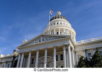 새크라멘토, 캘리포니아, 국회 의사당