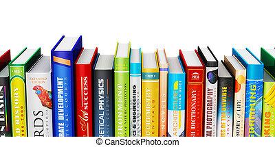 색, 두꺼운 표지의 책, 책