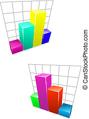 색, 사업, 그래프